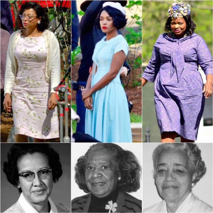 Hidden Figures - actresses and real life women