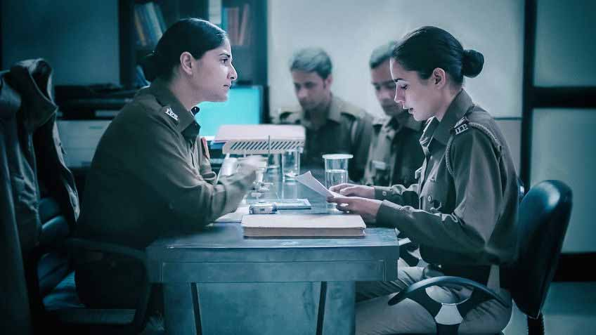 Soni Review - officer Soni and her boss Kalpana - Netflix Drama from India